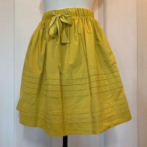 Anthropologie Full Skirt in Jaune